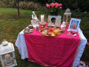 Lakshmi-Puja Altar