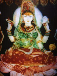 Haidakhanishwari-die Göttliche Mutter von Haidakhan