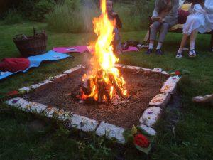 Feuerpuja in Praxis Nord-Licht
